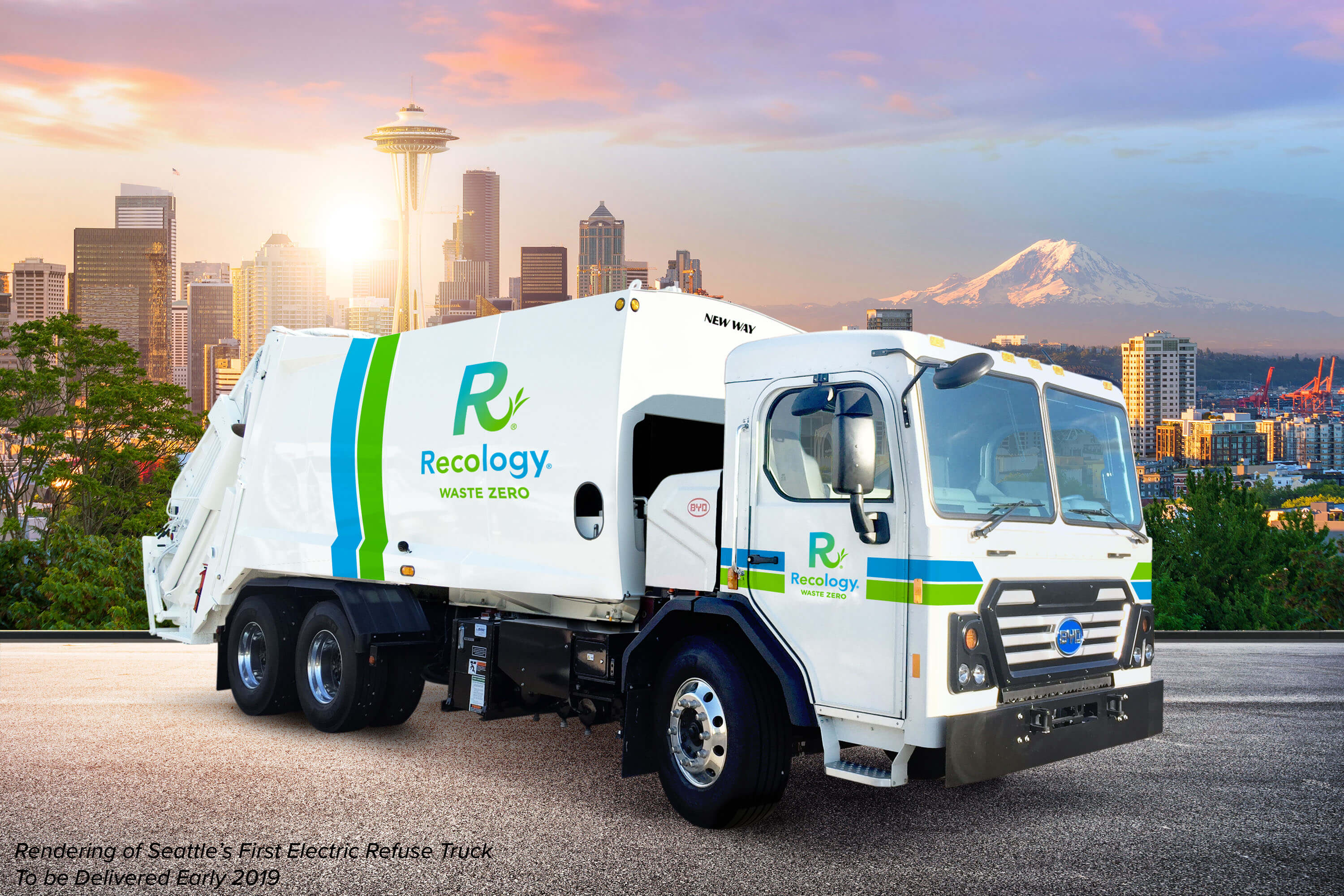 Press Release: Seattle's First Electric Refuse Trucks to be