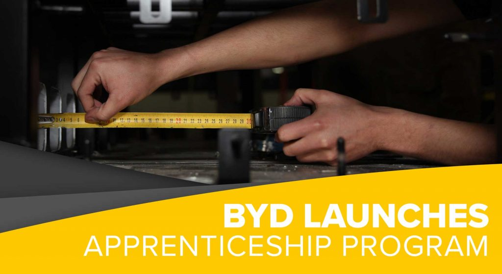 BYD Launches Apprenticeship Program - BYD USA
