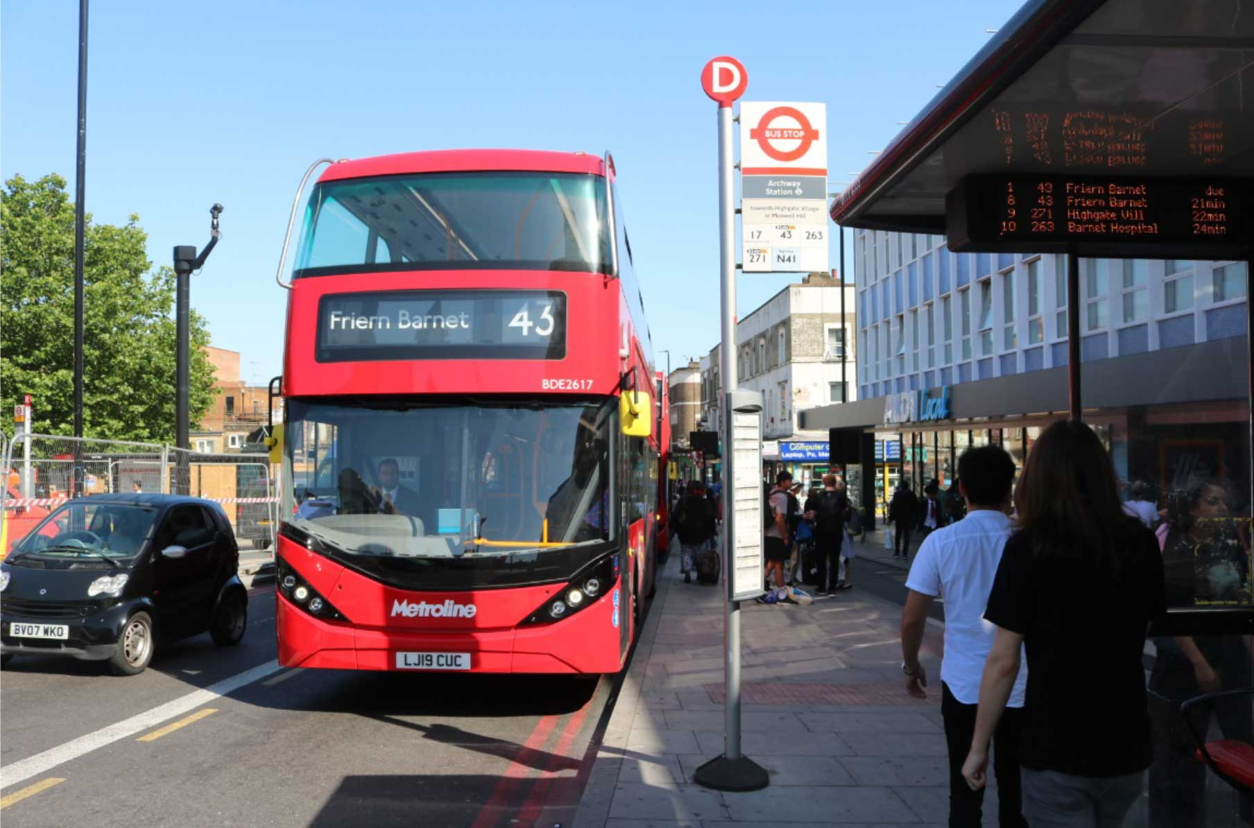 All-electric Double-decker Buses Delivered To London