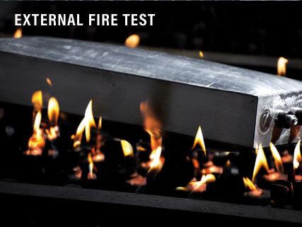 External Fire Test