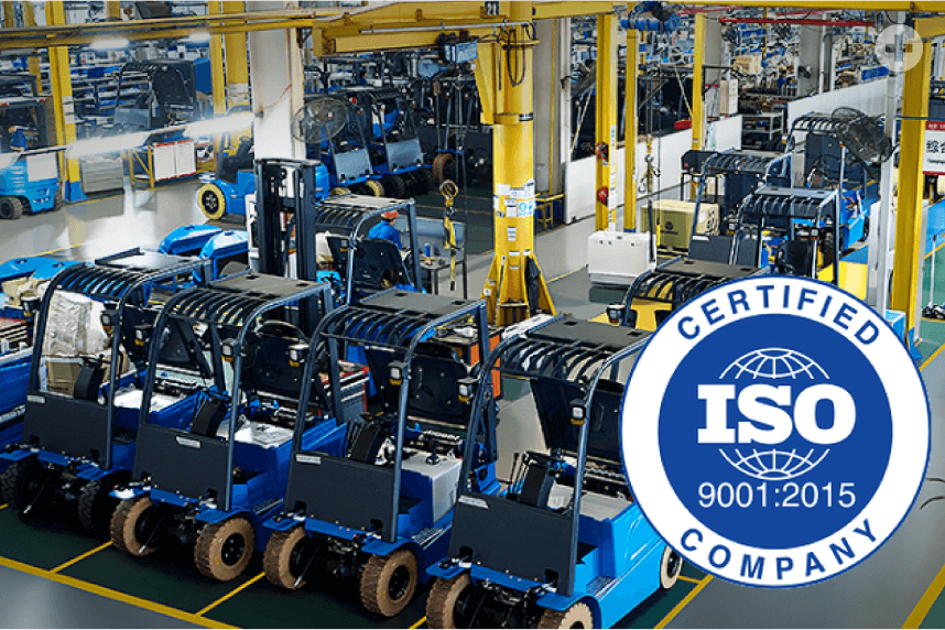 Factory passed ISO9001 certification