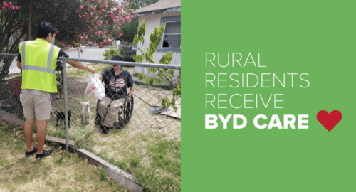 RURAL RESIDENTS RECEIVE BYD CARE