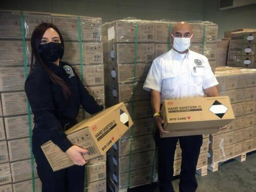BYD DONATES CRITICAL PPE SUPPLIES TO EL PASO, TEXAS