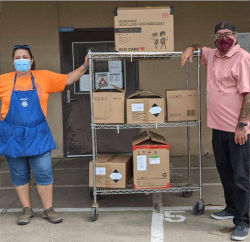 BYD CARE DONATION TO FRESNO